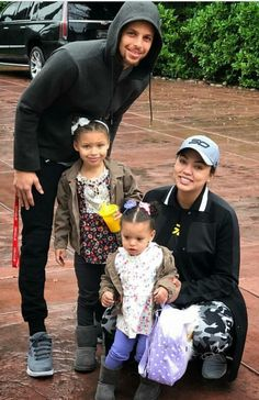 Stephen and Ayesha Curry with Riley and Ryan Curry, Tuesday January Cute Family, Family Goals, Beautiful Family, Beautiful Children, Couple Goals, Ayesha And Steph Curry, Stephen Curry Ayesha Curry, Stephen Curry Family, The Curry Family