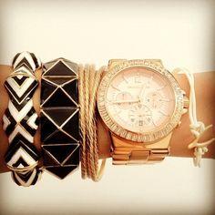 Imagen de watch, bracelet, and pretty