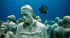 Cancún Underwater Museum- a submerged world