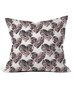 Take a look at this Zoe Wodarz Marble Hearts Throw Pillow today!