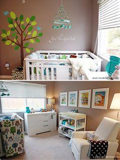 owl baby room