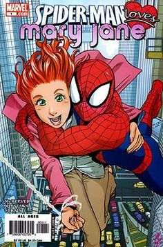 Dorky Girl and Skeletor present...  Spider-Man Loves Mary Jane by Sean McKeever and Takeshi Miyazawa BOOK REVIEW!