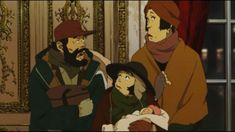 In his short-lived occupation, Satoshi Kon released nothing nonetheless bonafide anime classics and Tokyo Godfathers is never any exception. Anime Dvd, Old Anime, Tokyo Godfathers, Satoshi Kon, Godfather Movie, Secret World Of Arrietty, Wonderland Costumes, Anime Watch, Anime Reviews