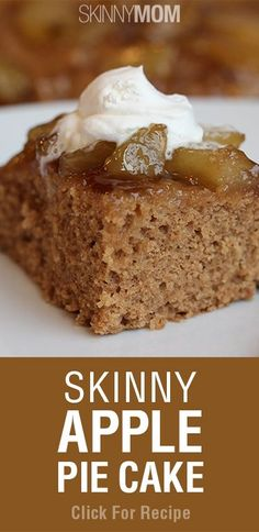 Skinny Apple Pie Cake! Must try this yummy variation on this classic dish!