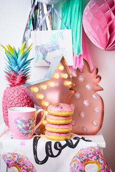 Primark.com Primark Home Donuts Pineapple LED Unicorns