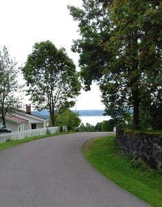 Norway, Sidewalk, Country Roads, Walkways, Pavement