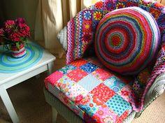 Helens Colourful Crochet Blankets