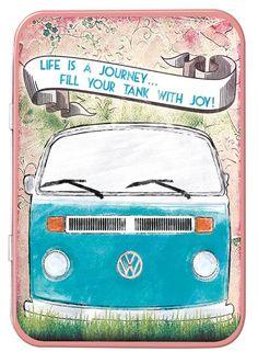 VW Life is a Journey Keepsake Tin