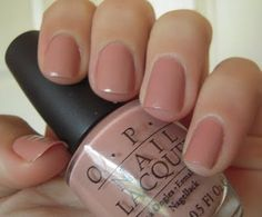 OPI Dulce De Leche. My new favorite nail polish.