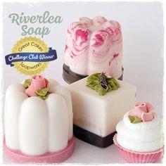 Mini Dessert Soaps by Riverlea Soap