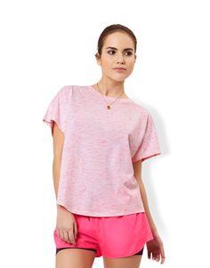 V Back Space Dye T-Shirt
