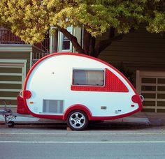 teardrop trailer WILL YOU BE MINE WILL YOU BE MY TRAILER?!