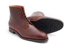 Rider Boot, Plain Toe Boot, Sestriere Soles – MTO