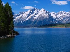 Great view of the Tetons in all directions