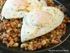 Breakfast Beef Roast Hash Recipe from Hot Eats and Cool Reads