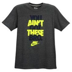 Nike Graphic T-Shirt - Men's - White/Royal/Red