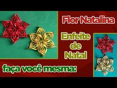 Como Fazer Flor Natalina / Enfeite de Natal - YouTube Youtube, Irene, Videos, Crochet, Christmas Room Decorations, Ideas For Christmas, Flower Decoration, Holiday Decorating, Handmade Christmas Crafts