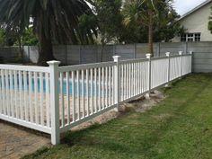 Pool Fence - Palisade Style