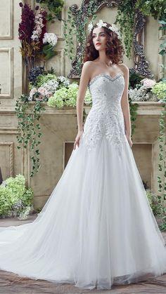 Sexy Wedding Dresses, Tulle Wedding, Cheap Wedding Dress, Bridal Lace, Designer Wedding Dresses, Bridal Gowns, Wedding Fun, Ivory Wedding, Bride Dresses