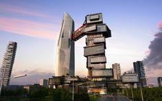 Zoomlion Headquarters International Plaza - Twin Towers | amphibianArc | Archinect