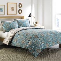 #CityScene Milan #Turquoise Comforter & Duvet Set. @beddingstyle #BeddingStyle #bed #bedroom #design