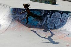 In this July 2015 photo, a young skater falls as he plays in a skate park in Milan, Italy. The Allure, Milan Italy, Skate Park, Plays, Games, Digital, World, Simple, Fall