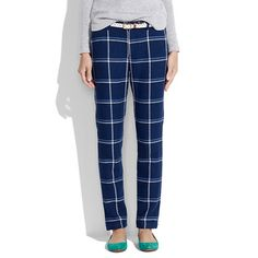 Plaid Trousers @Jeanne Bartolomeo I will pay you to make me a knock off pair????