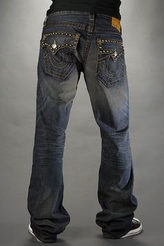 True Religion Mens Jeans, yes they are a ridiculous $200 but they look good on me and are super fresh