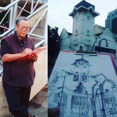 #seri_ngabuburit_alunalun (2)Ngabuburit di Alun Alun Bandung bareng @bandungsketchwalk #art #drawing #sketch #sketchwalker #ngabuburit #ramadhan #alunalunbandung City Sketch, Drawings, Sketches, Instagram, Draw, Draw, Drawing, Doodles