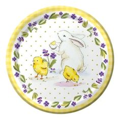 Classic Easter  Plates