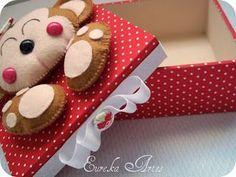 Boutique D'Caroline: Caixas decoradas: