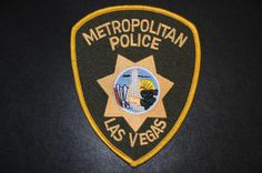 Las Vegas Metropolitan Police Patch, Nevada (Current Issue) - Merged with Clark County Sheriff's Office in 1973