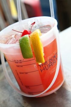 Voodoo Punch Bucket packs a punch for two! Tacky Jacks <3