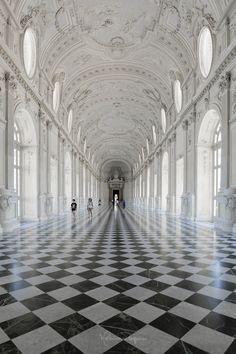 https://flic.kr/p/KwkpZb | LA VENARIA REALE-Galleria grande, detta di Diana 3