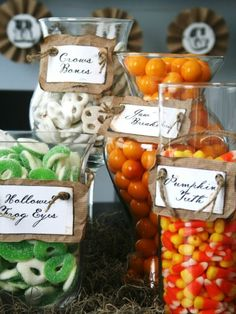 10 Sweet Ways to Decorate With Halloween Candy