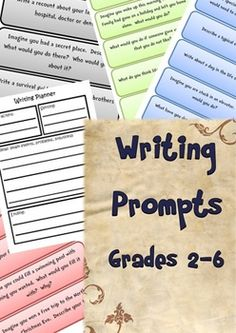 250 Writing Prompts for grades 2-6