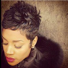 Hot Hair from Like The River Salon in Atlanta! ✂️✂️✂️✂️
