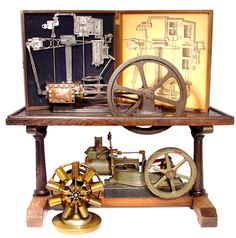 Charles Watt invented the steam engine Stirling Engine, Engineering Works, Steampunk Furniture, Maker Shop, Fire Apparatus, Nikola Tesla, Small Engine, Machine Tools, Steam Engine