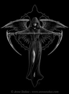 """Death Angel"" by Anne Stokes (MY FAVOURITE ARTIST EVER)"