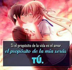 Imagenes De Animes De Amor Con Frases Bonitas Y Romanticas Para Mi