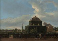 Jan van der Heyden - Huis ten Bosch in Den Haag en de formele tuin (vanuit het oosten)