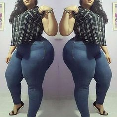 Jeans Fashion Tips For Curvy Plus Size Women. Jeans are an essential part of any curvy plus size women's wardrobe, dress them up, dress the down, it's up to you. Curvy Plus Size, Plus Size Women, Fat Women, Sexy Women, Fat Girl Problems, Plus Sise, Modelos Plus Size, Chubby Girl, Chubby Ladies