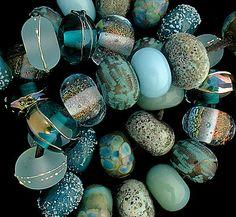 DSG Beads Handmade Organic Lampwork Glass - Made To Order (Little Mermaid)