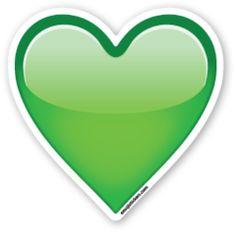 Green Heart | Emoji Stickers