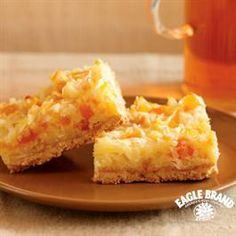 Apricot-Coconut Cookie Bars from Eagle Brand®