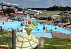 With 12 acres of opportunities to slip, slide and splash, Comanche Nation Water Park in Lawton, Oklahoma is the perfect place to cool down.