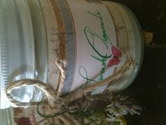 Lavender chamomile soy candle