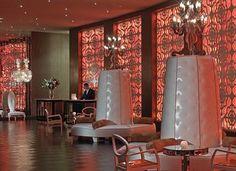 Riviera Palm Springs - A Noble House Resort (a hotel) Palm Springs Resorts, Springs Resort And Spa, Mid-century Modern, Modern Design, Hotel Lobby, House, Home Decor, Hollywood Regency, Resort Spa