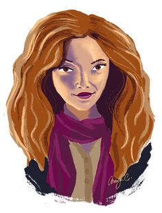 Hermione Granger for a Sketch Dailies topic.