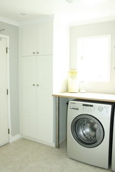 Ikea Laundry Room Cabinets | ... Finished   Laundry Room With Adel Pantry  And Cabinets   IKEA FANS | Laundry/storage | Pinterest | Ikea Laundry Room,  Ikea ...